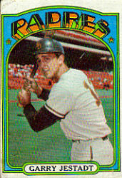 1972 Topps Baseball Cards      143     Garry Jestadt